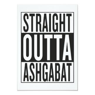 straight outta Ashgabat Card