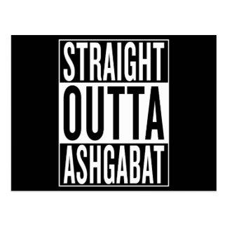 straight outta Ashgabat Postcard