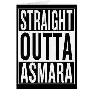 straight outta Asmara Card