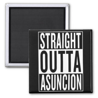 straight outta Asuncion Magnet