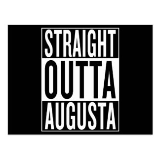 straight outta Augusta Postcard