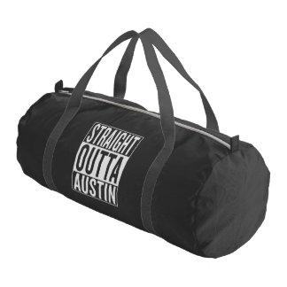 straight outta Austin Gym Bag