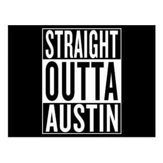 straight outta Austin Postcard