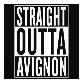 straight outta Avignon Card