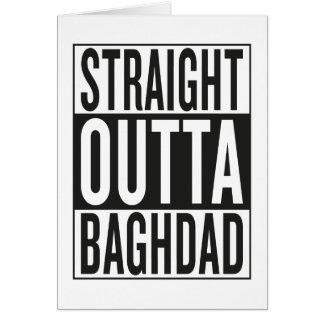 straight outta Baghdad Card