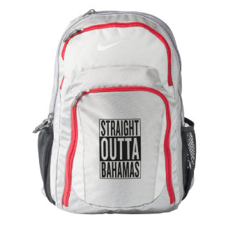 straight outta Bahamas Backpack