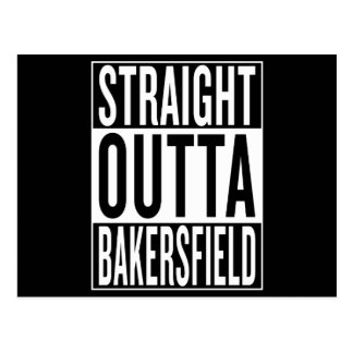 straight outta Bakersfield Postcard