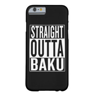 straight outta Baku Barely There iPhone 6 Case