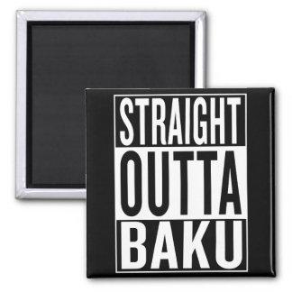straight outta Baku Magnet