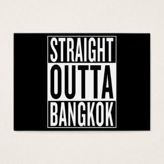 straight outta Bangkok Business Card
