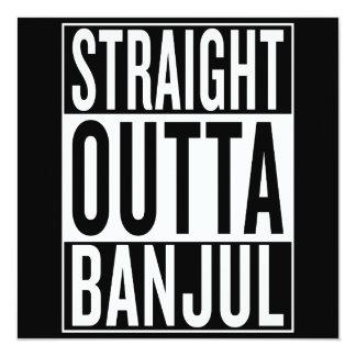 straight outta Banjul Card