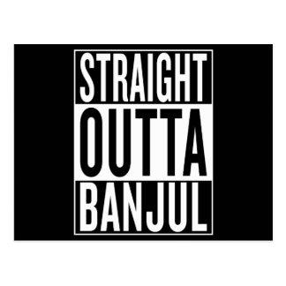 straight outta Banjul Postcard