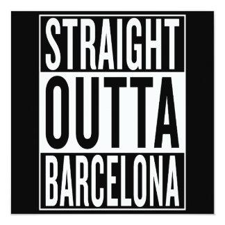 straight outta Barcelona Card