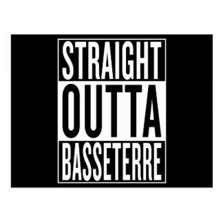 straight outta Basseterre Postcard