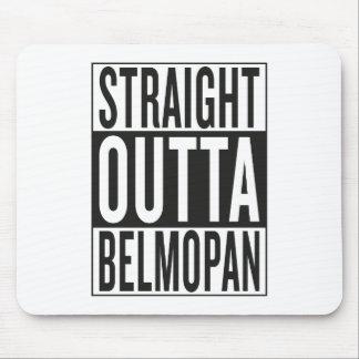 straight outta Belmopan Mouse Pad