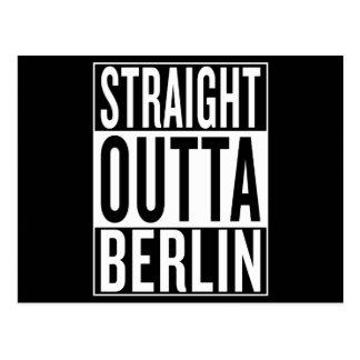 straight outta Berlin Postcard