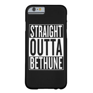 straight outta Bethune Barely There iPhone 6 Case