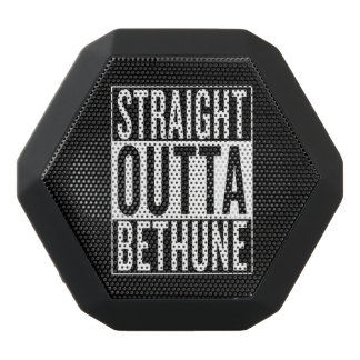 straight outta Bethune Black Bluetooth Speaker