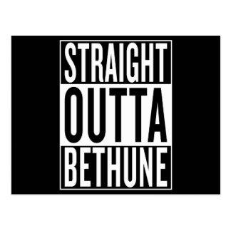 straight outta Bethune Postcard