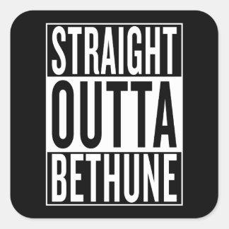 straight outta Bethune Square Sticker
