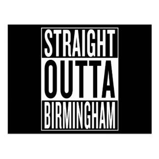 straight outta Birmingham Postcard