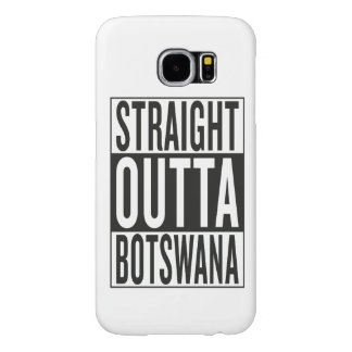 straight outta Botswana Samsung Galaxy S6 Cases