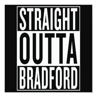 straight outta Bradford Card