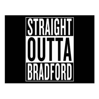 straight outta Bradford Postcard