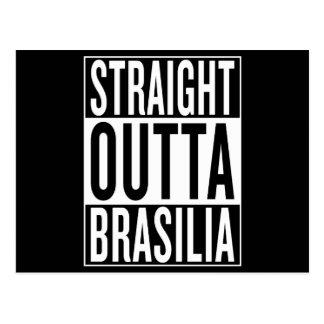 straight outta Brasilia Postcard