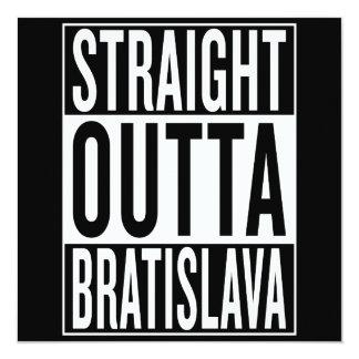 straight outta Bratislava Card
