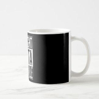 straight outta Brazzaville Coffee Mug