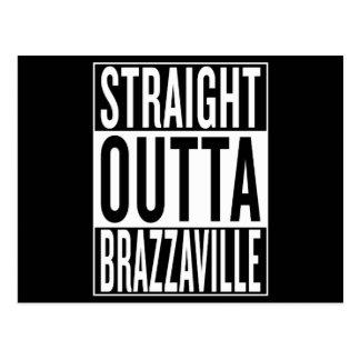 straight outta Brazzaville Postcard