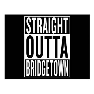 straight outta Bridgetown Postcard