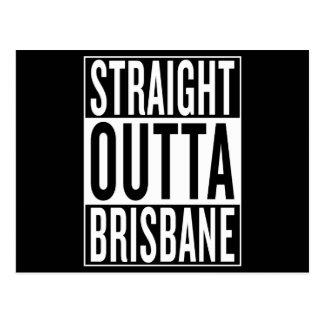 straight outta Brisbane Postcard