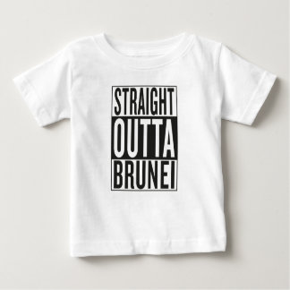 straight outta Brunei Baby T-Shirt