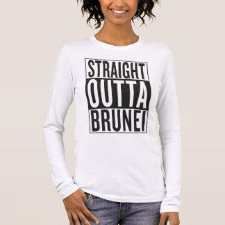 straight outta Brunei Long Sleeve T-Shirt