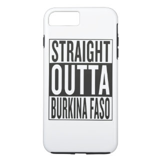 straight outta Burkina Faso iPhone 7 Plus Case