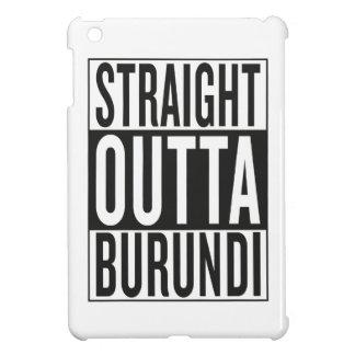 straight outta Burundi Cover For The iPad Mini