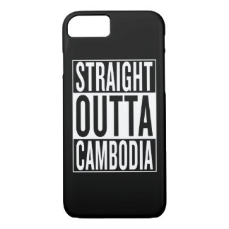straight outta Cambodia iPhone 7 Case