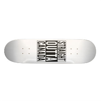 straight outta Canada Skateboard Decks