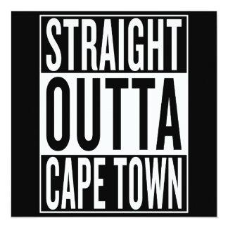 straight outta Cape Town Card