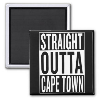 straight outta Cape Town Magnet