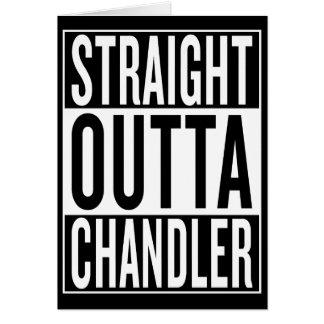straight outta Chandler Card