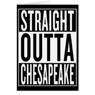 straight outta Chesapeake Card