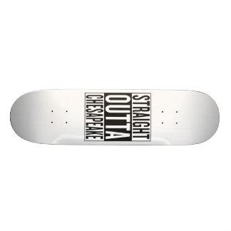 straight outta Chesapeake Skate Boards