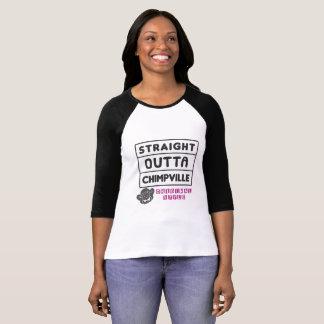 Straight Outta Chimpville, Womens T-Shirt