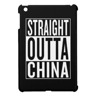 straight outta China iPad Mini Covers