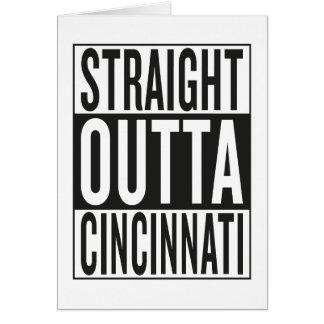 straight outta Cincinnati Card
