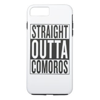 straight outta Comoros iPhone 7 Plus Case