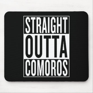 straight outta Comoros Mouse Pad